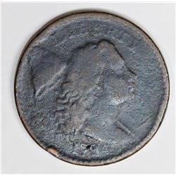 1794 EARLY LARGE CENT NICE VG