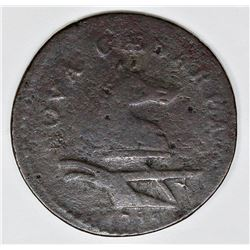 1786 NEW JERSEY CENT MARIS 17B