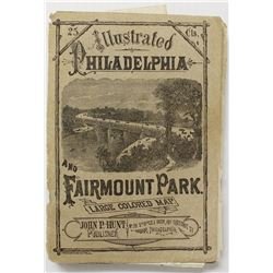 POCKET GUIDE OF PHILADELPHIA CIRCA 1878
