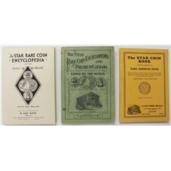 SET OF THREE MAX MEHL COIN CATALOGS