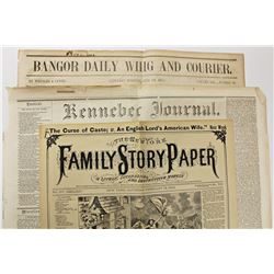 3 EARLY NEWSPAPERS 1854-1888