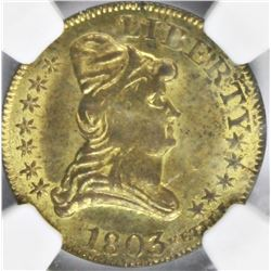 1803 KETTLE TOKEN NGC MS 63