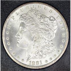 1881-CC MORGAN SILVER DOLLAR GSA