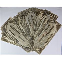 LOT OF 20 PIECES OF CURRENCY