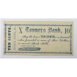 TEN CENT CIVIL WAR SCRIP