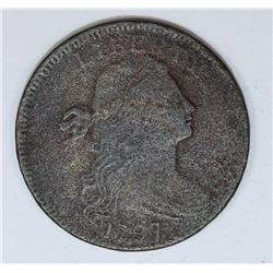 1797 LARGE CENT WITH STEMS
