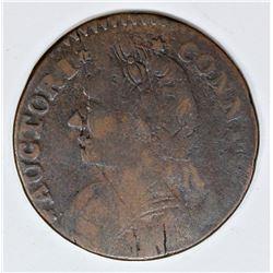 1788 CONN. CENT M12. 1-F1 R5 VERY SCARCE