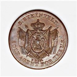 1863 CIVIL WAR STORE CARD TOKEN