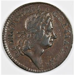 1723 HIBERNIA-WOODS HALF PENNY