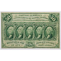 FIFTY CENT POSTAGE CURRENCY