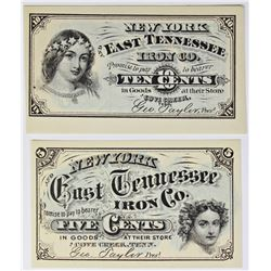 FIVE AND TEN CENT 1860'S