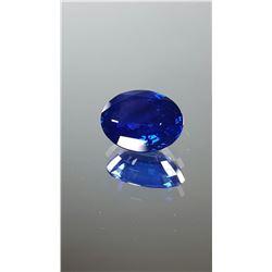 Stunning Natural Kashmir Sapphire  - CD certified
