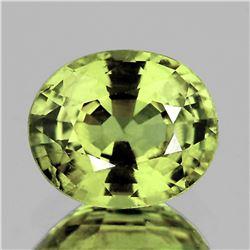 Natural Top Greenish Yellow Sapphire VVS