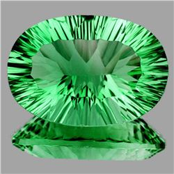 Natural Paraiba Green Fluorite 39.72 Ct - FL