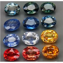 Natural Fancy Color Sapphire 4.11 Cts
