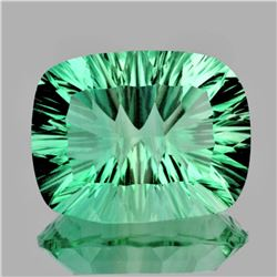 Natural ConCave Cut AAA Paraiba Green Blue Fluorite