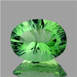 Natural Paraiba Green Fluorite 16x12 Mm - Flawless