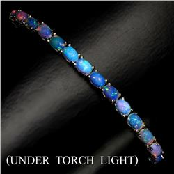 Natural Untreated White Opal 74.54 Cts Bracelet