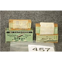 9mm Steyr Ammo with Stripper Clips
