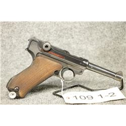 PROHIBITED Luger P08