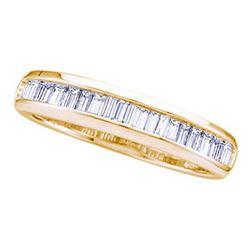 925 Sterling Silver Yellow 0.25CTW DIAMOND FASHION HOOP