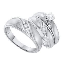 0.03CT-Diamond HEART RING