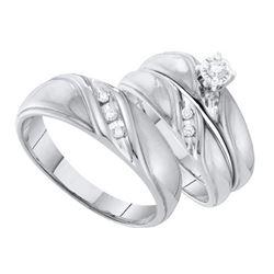 0.03CT-Diamond HEART RING-S10