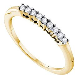 10KT White Gold 0.28CTW DIAMOND LADIES TRIO SET WITH 0.