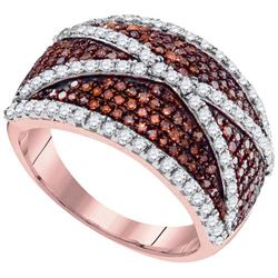 10KT Rose Gold 1.00CTW DIAMOND FASHION RING
