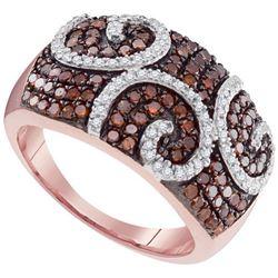 10KT Rose Gold 0.90CTW DIAMOND FASHION RING