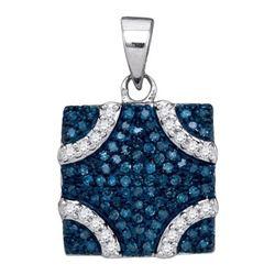 14K 925-Sterling 0.35CT DIAMOND FASHION PENDANT