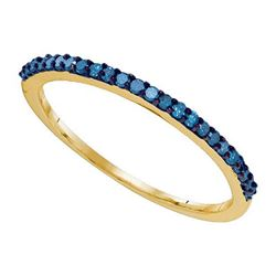 10KT Yellow Gold 0.21CTW DIAMOND FASHION BAND