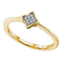 0.01CT DIAMOND MICRO-PAVE RING