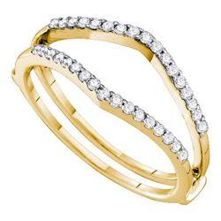 14KT Yellow Gold 0.25CTW DIAMOND FASHION BAND