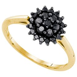 10K Yellow-gold 0.49CTW DIAMOND FASHION RING