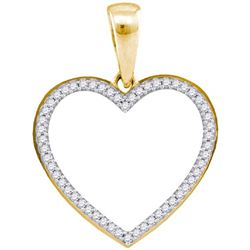 925 Sterling Silver Yellow 0.15CT DIAMOND MICRO PAVE HE