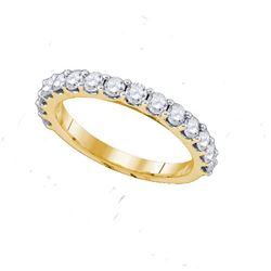 14KT Yellow Gold 0.26CT DIAMOND FASHION BAND