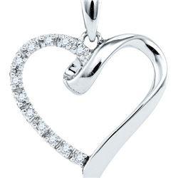 0.05CTW-Diamond FASHION PENDANT
