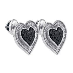 925 Sterling Silver White 0.34CT DIAMOND MICRO-PAVE EAR