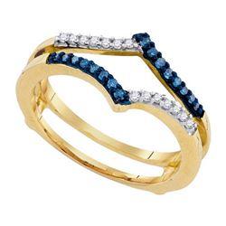 10KT Yellow Gold 0.20CTW DIAMOND FASHION RING