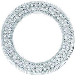 0.06CT-Diamond RD-CENTER RING-S9