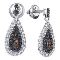925 Sterling Silver White 0.33CT DIAMOND FASHION EARRIN