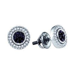 925 Sterling Silver White 0.27CT DIAMOND FASHION EARRIN