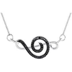0.14CTW-Diamond FASHION NECKLACE