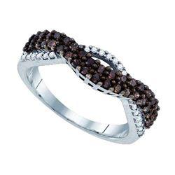 925 Sterling Silver White 0.51CT DIAMOND FASHION RING