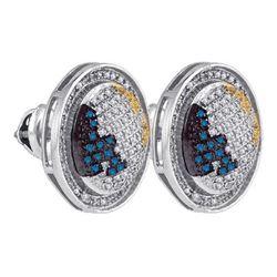 925 Sterling Silver White 0.75CT DIAMOND MICRO-PAVE EAR