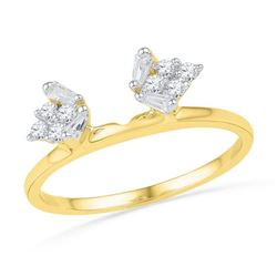 14KT Yellow Gold 0.25CTW DIAMOND ENHANCER
