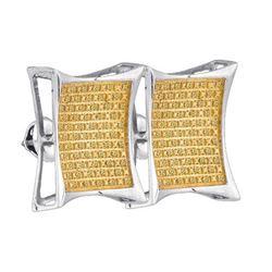 925 Sterling Silver White 0.36CT DIAMOND MICRO-PAVE EAR