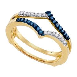 10KT Yellow Gold 0.20CTW DIAMOND FASHION RING