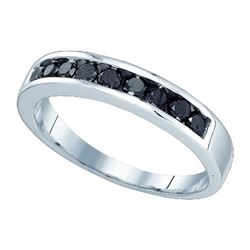 10KT White Gold 0.51CT DIAMOND FASHION BAND